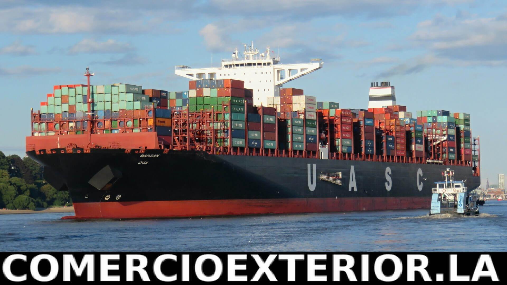 Transporte Marítimo en el comercio internacional
