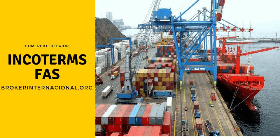 FAS Incoterms en el comercio exterior