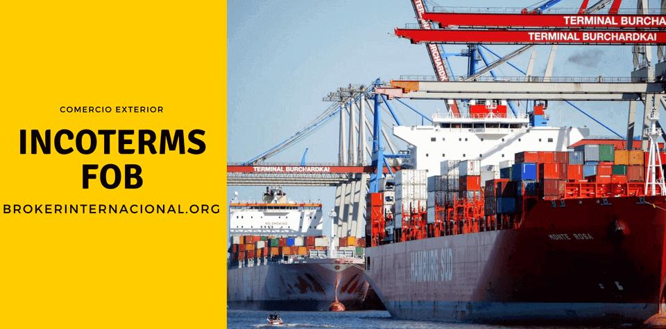 FOB Incoterms en el comercio exterior