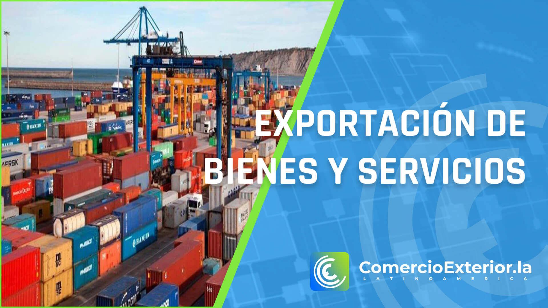 exportaciones de bienes y servicios