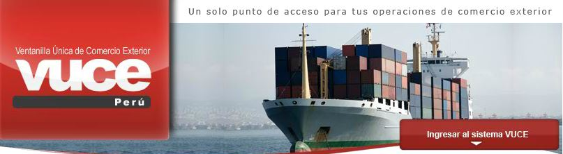 VUCE - Ventanilla Única de Comercio Exterior