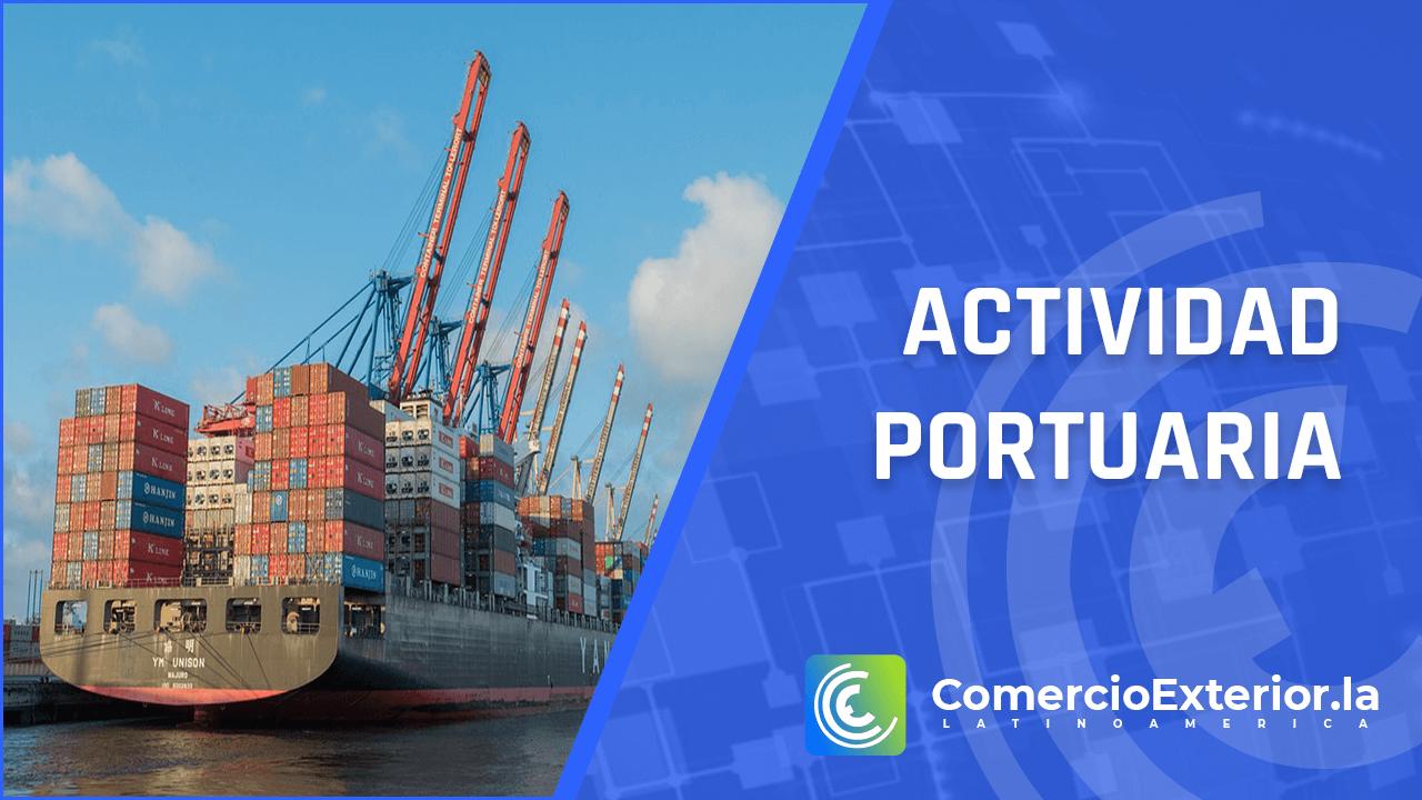 actividad portuaria en el comercio exterior