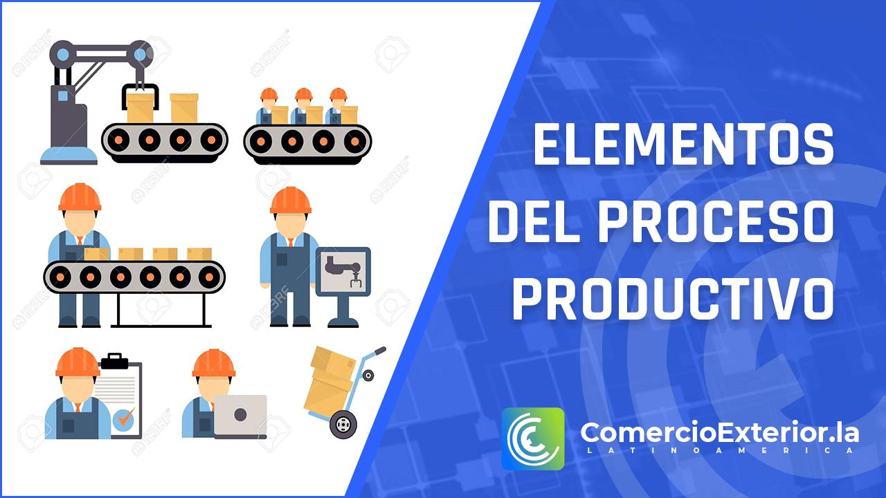 elementos del proceso productivo