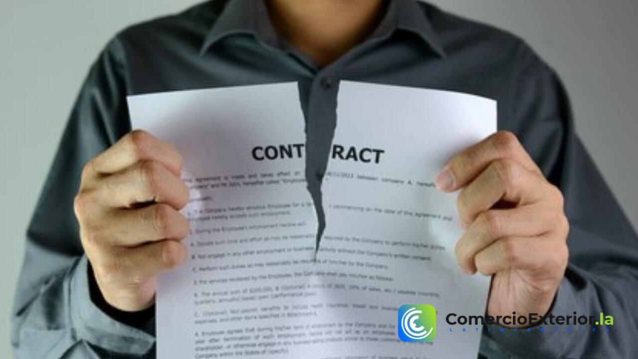 Incumplimiento de contrato en el Comercio Internacional
