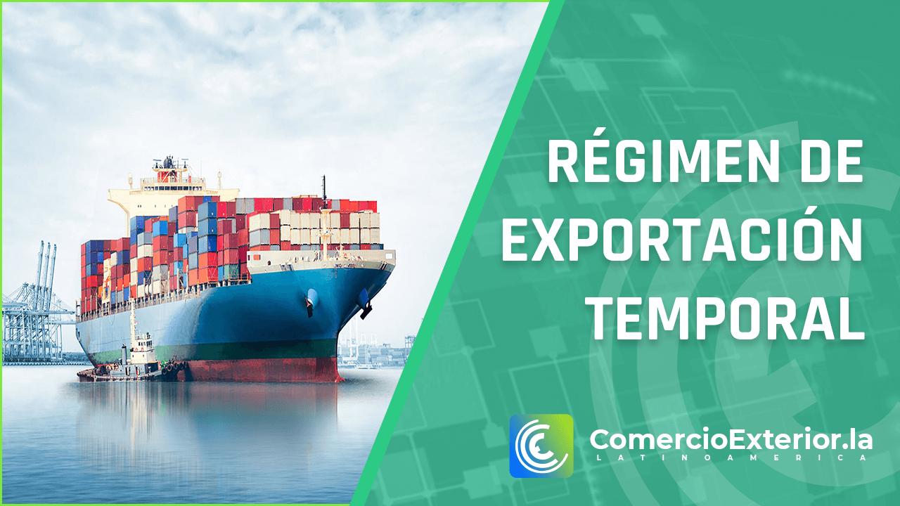 Régimen de exportación temporal perú