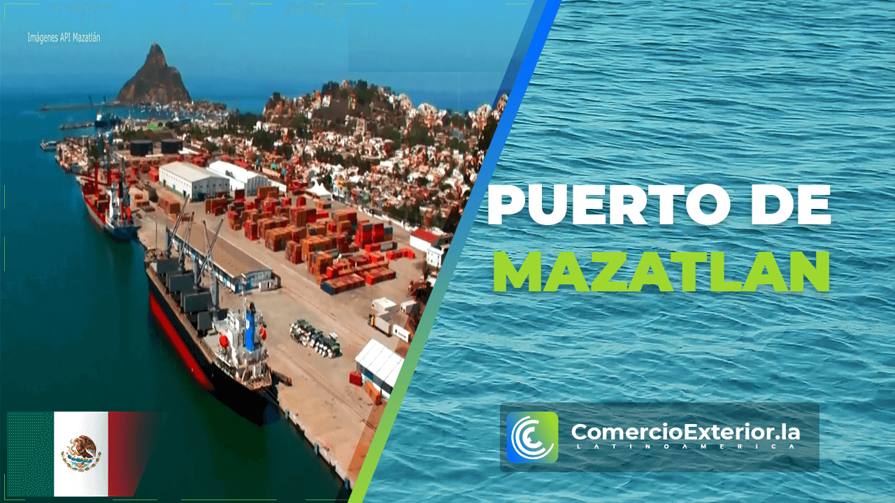 Puerto de Mazatlan o Mazatlan Port
