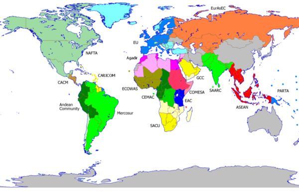 mapa de bloques economicos