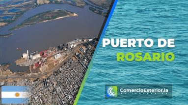 puerto de rosario argentina