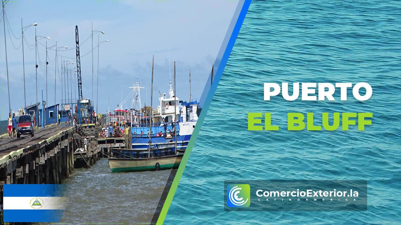 puertos de nicaragua el bluff