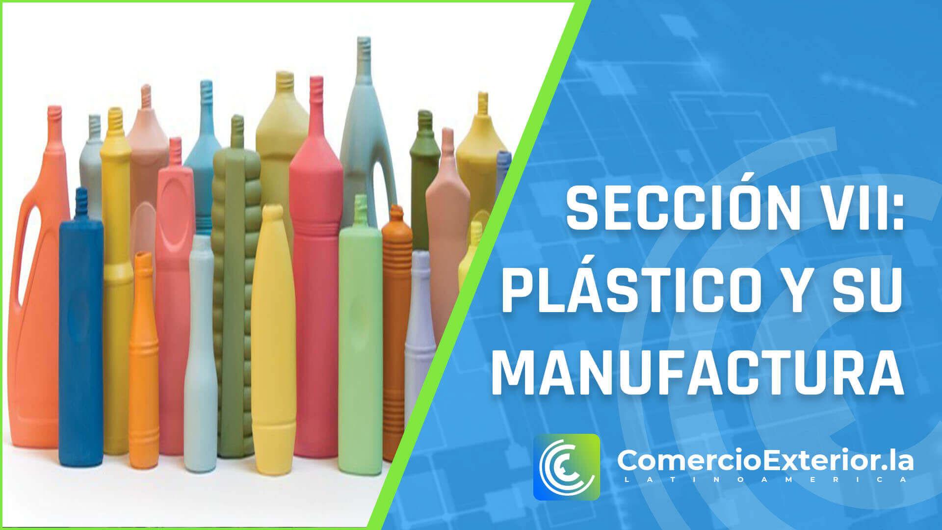 plástico y su manufactura