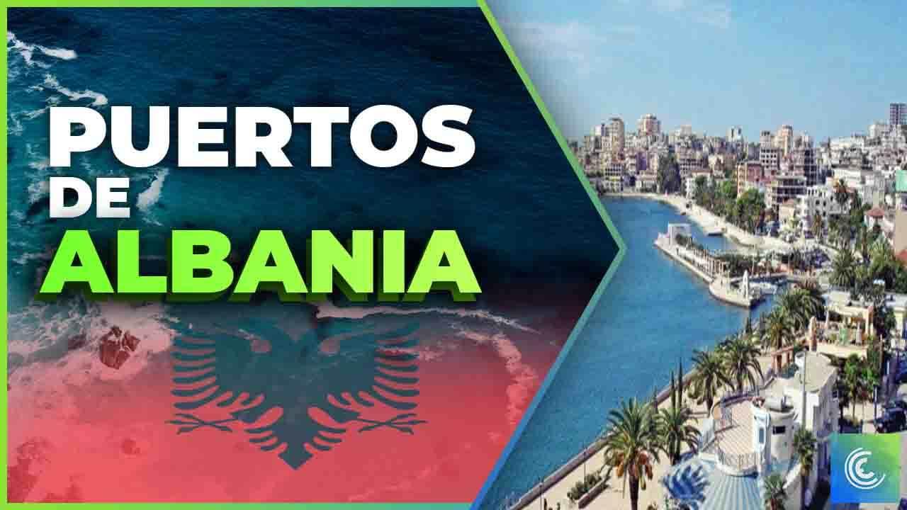 principales puertos maritimos de albania
