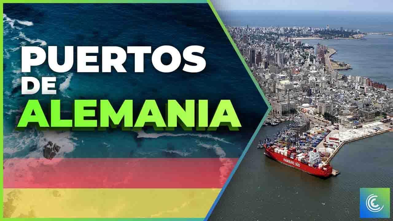 principales puertos maritimos de alemania
