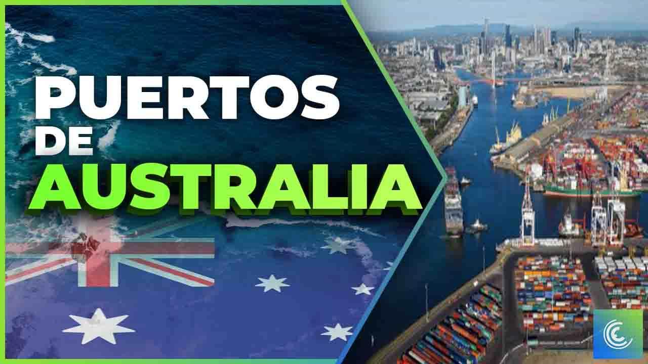 principales puertos maritimos de australia