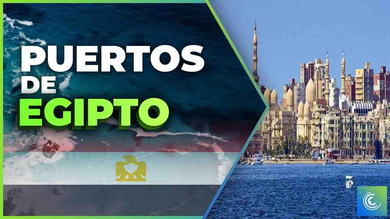 principales puertos maritimos de egipto