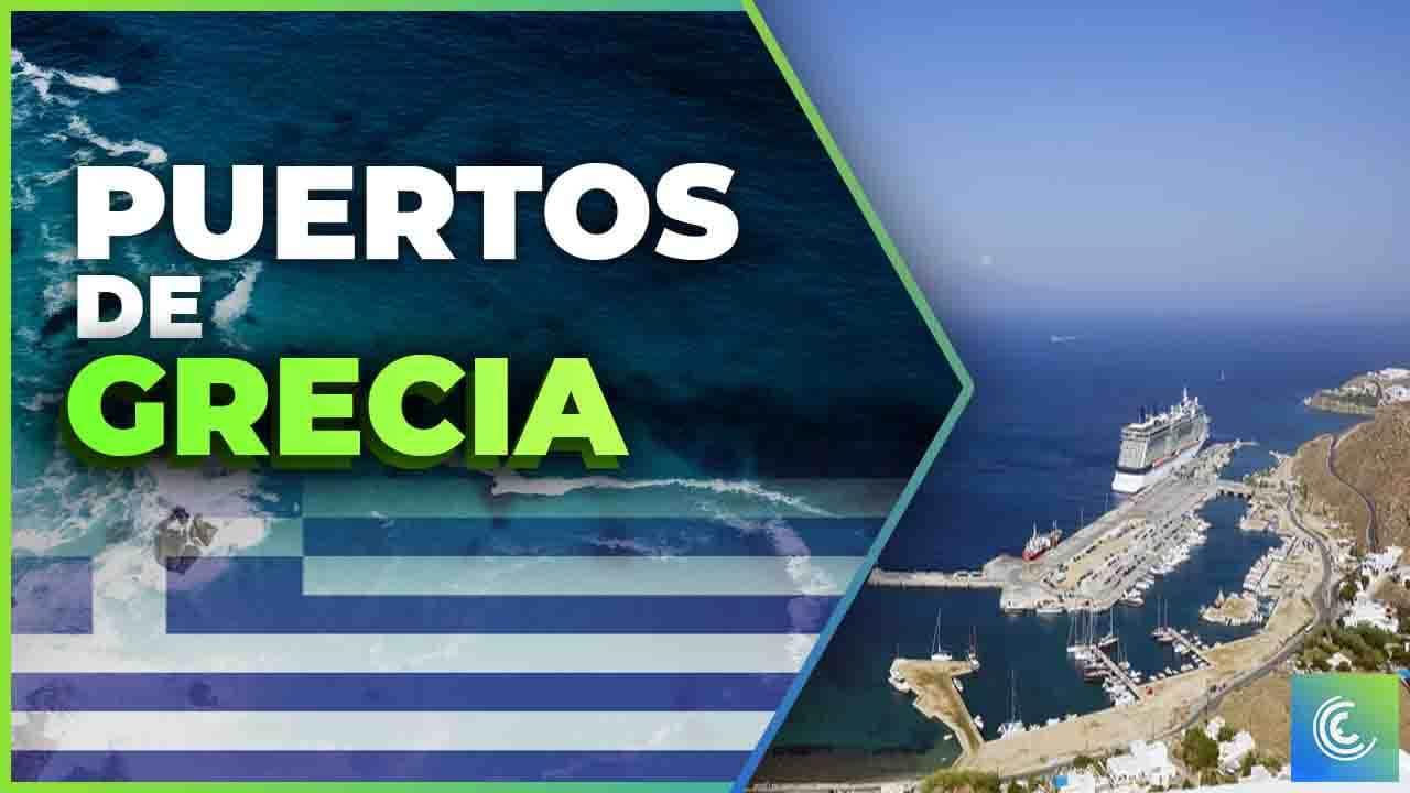 principales puertos maritimos de grecia