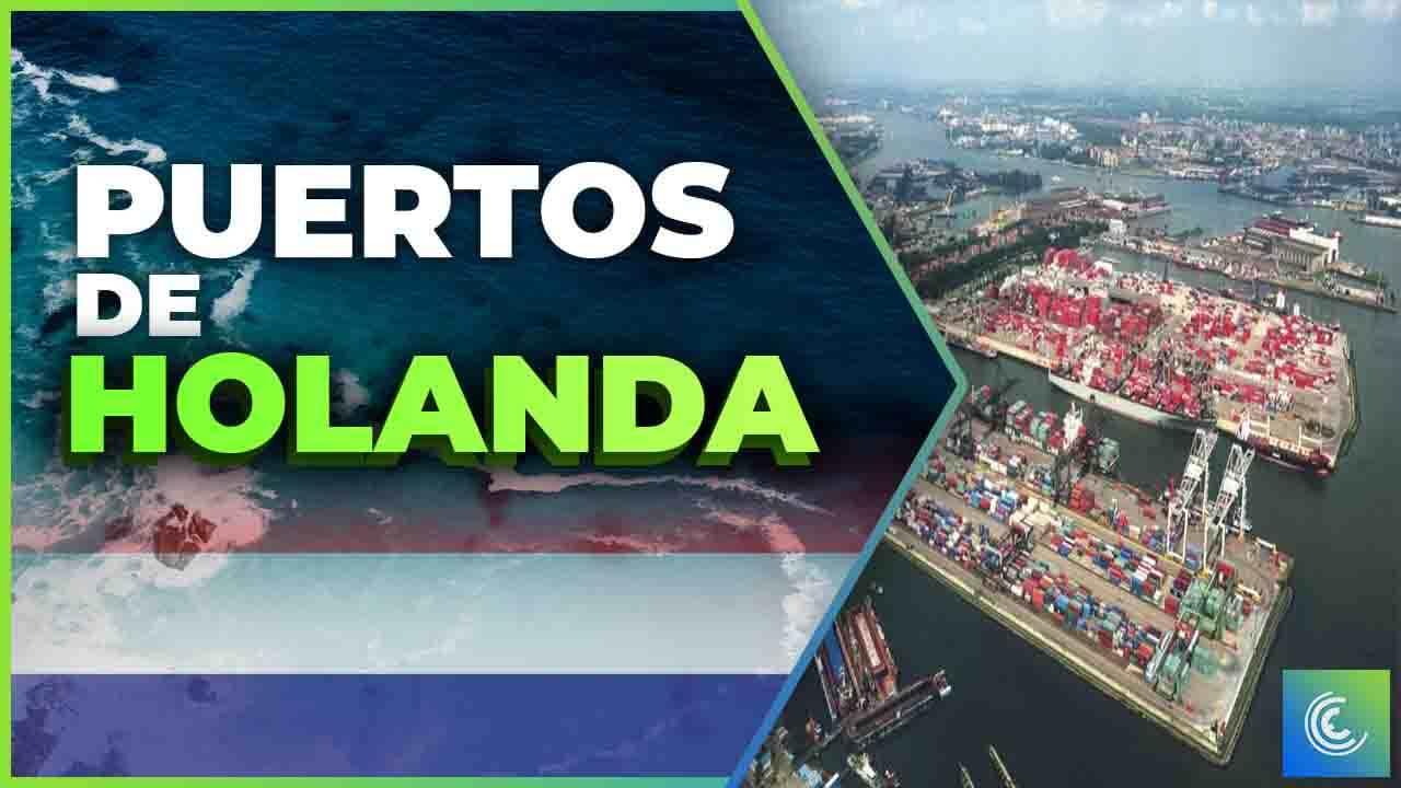 principales puertos maritimos de holanda