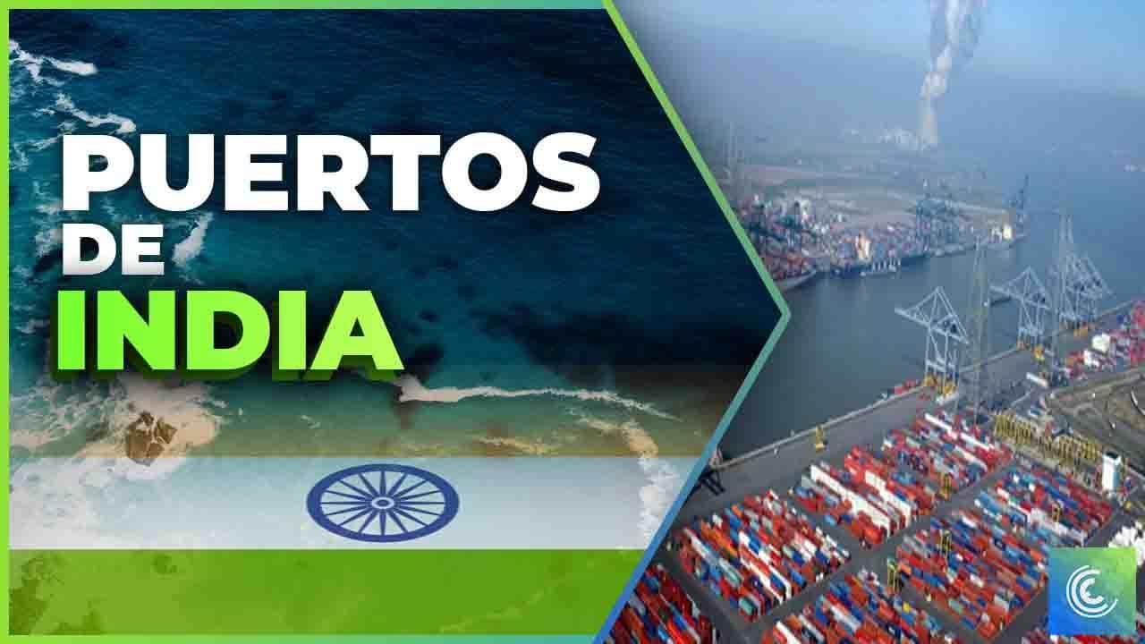 principales puertos maritimos de india