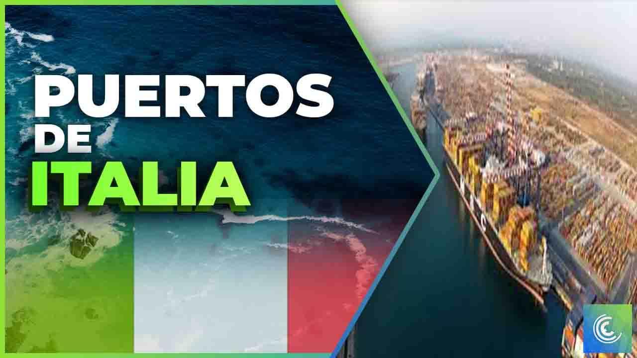 principales puertos maritimos de italia