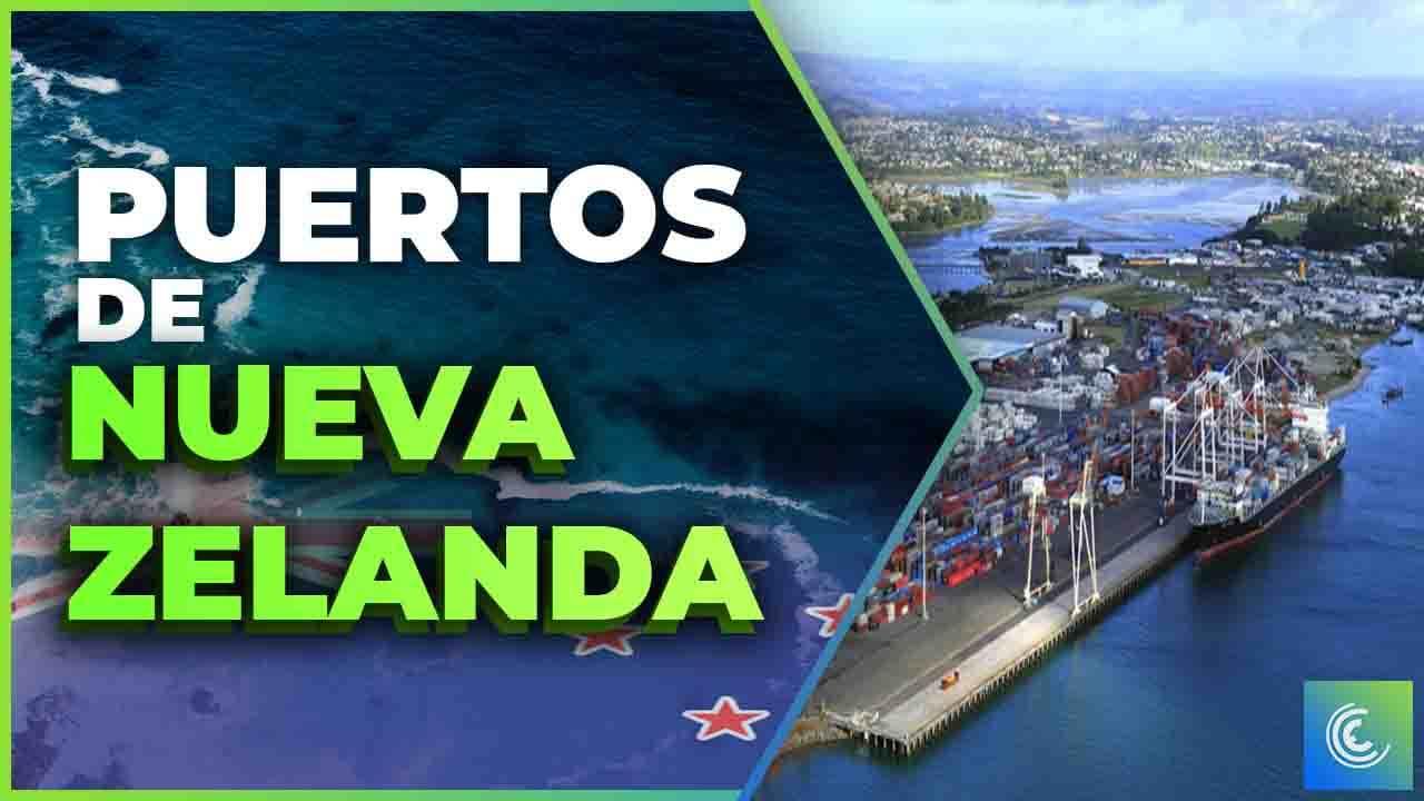 principales puertos maritimos de nueva zelanda