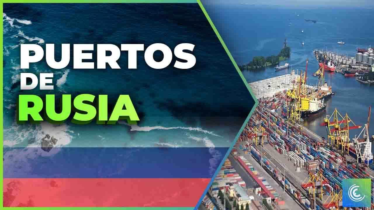 principales puertos maritimos de rusia