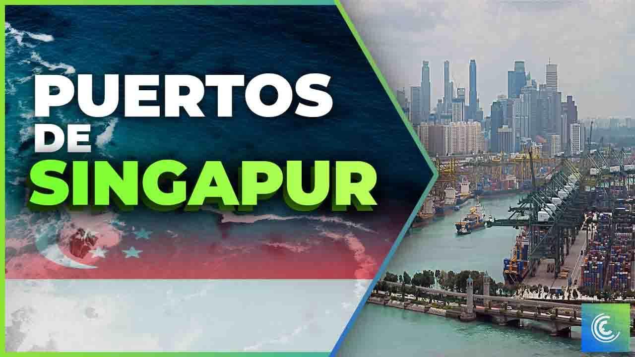 principales puertos maritimos de singapur