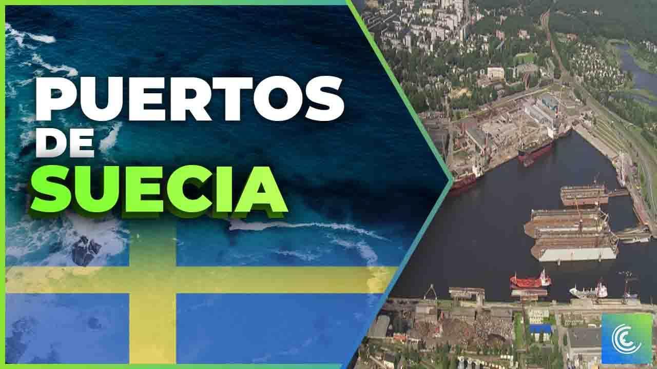 principales puertos maritimos de suecia