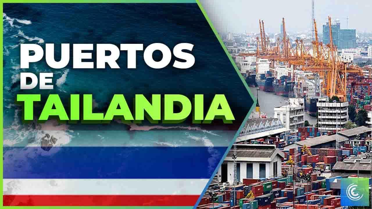 principales puertos maritimos de tailandia