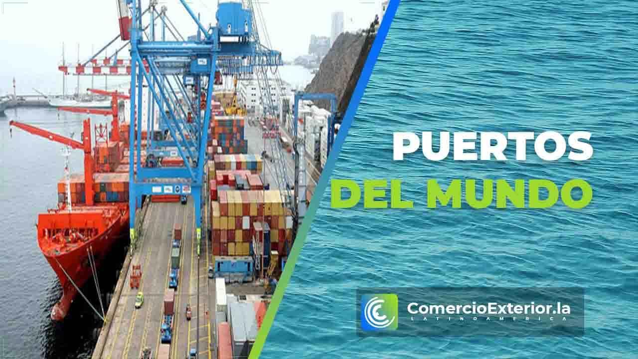 top puertos mas importantes del mundo